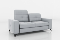 Sofa dwuosobowa z regulowanymi zagłówkami Belavio II sofa wypoczynkowa z regulowaną głębokością siedziska