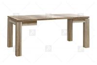 Stół rozkładany EST45 - Dąb Antyczny rozłozony stół