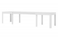 stôl rozkladany Wenus 2 - Biely mat stôl do jedálne
