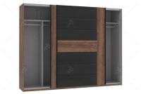 Szafa ubraniowa BLQS128E1 Bellevue wnętrze szafy
