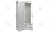 Szafa ubraniowa RETS82 Avinion wnętrze białej szafy