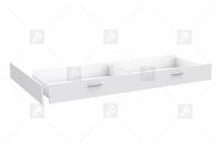 Szuflada do łóżka SNWL02 Snow biała szuflada