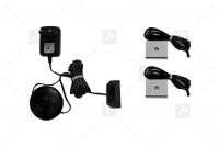 Zestaw oświetlenia LED 2-punktowy IZLED08-02-WW01 oświetlenie